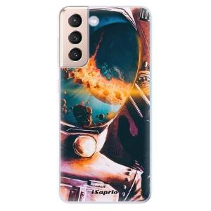 Odolné silikonové pouzdro iSaprio - Astronaut 01 na mobil Samsung Galaxy S21 5G