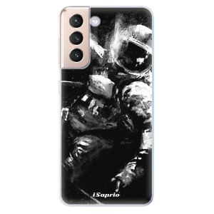 Odolné silikonové pouzdro iSaprio - Astronaut 02 na mobil Samsung Galaxy S21 5G