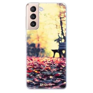 Odolné silikonové pouzdro iSaprio - Bench 01 na mobil Samsung Galaxy S21 5G