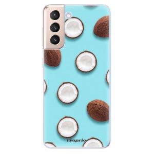 Odolné silikonové pouzdro iSaprio - Coconut 01 na mobil Samsung Galaxy S21 5G