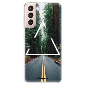 Odolné silikonové pouzdro iSaprio - Triangle 01 na mobil Samsung Galaxy S21 5G - výprodej