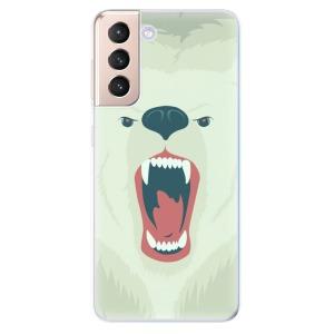 Odolné silikonové pouzdro iSaprio - Angry Bear na mobil Samsung Galaxy S21 5G