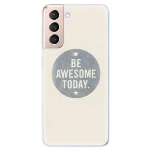 Odolné silikonové pouzdro iSaprio - Awesome 02 na mobil Samsung Galaxy S21 5G