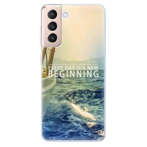 Odolné silikonové pouzdro iSaprio - Beginning na mobil Samsung Galaxy S21 5G
