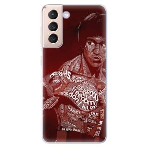 Odolné silikonové pouzdro iSaprio - Bruce Lee na mobil Samsung Galaxy S21 5G
