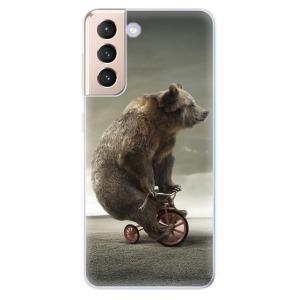 Odolné silikonové pouzdro iSaprio - Bear 01 na mobil Samsung Galaxy S21 5G
