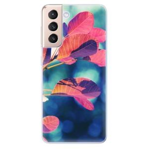 Odolné silikonové pouzdro iSaprio - Autumn 01 na mobil Samsung Galaxy S21 5G