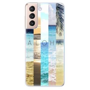 Odolné silikonové pouzdro iSaprio - Aloha 02 na mobil Samsung Galaxy S21 5G