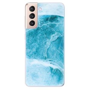 Odolné silikonové pouzdro iSaprio - Blue Marble na mobil Samsung Galaxy S21 5G