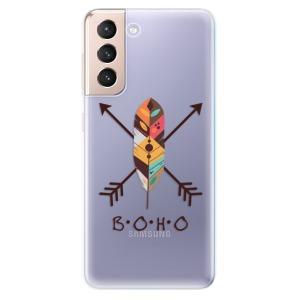 Odolné silikonové pouzdro iSaprio - BOHO na mobil Samsung Galaxy S21 5G