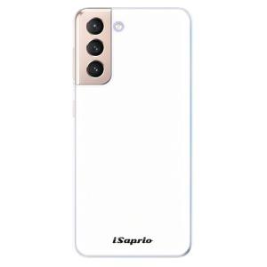 Odolné silikonové pouzdro iSaprio - 4Pure - bílé na mobil Samsung Galaxy S21 5G