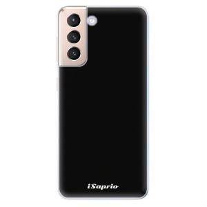 Odolné silikonové pouzdro iSaprio - 4Pure - černé na mobil Samsung Galaxy S21 5G