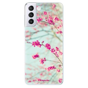 Odolné silikonové pouzdro iSaprio - Blossom 01 na mobil Samsung Galaxy S21 Plus 5G