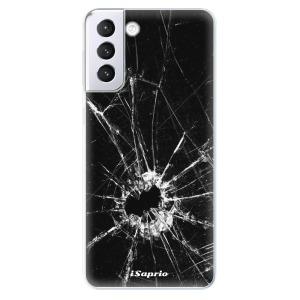 Odolné silikonové pouzdro iSaprio - Broken Glass 10 na mobil Samsung Galaxy S21 Plus 5G