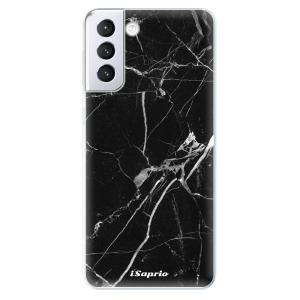 Odolné silikonové pouzdro iSaprio - Black Marble 18 na mobil Samsung Galaxy S21 Plus 5G