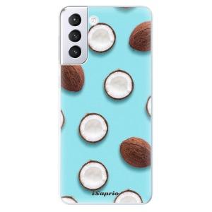 Odolné silikonové pouzdro iSaprio - Coconut 01 na mobil Samsung Galaxy S21 Plus 5G