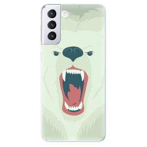 Odolné silikonové pouzdro iSaprio - Angry Bear na mobil Samsung Galaxy S21 Plus 5G