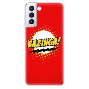 Odolné silikonové pouzdro iSaprio - Bazinga 01 na mobil Samsung Galaxy S21 Plus 5G