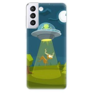 Odolné silikonové pouzdro iSaprio - Alien 01 na mobil Samsung Galaxy S21 Plus 5G