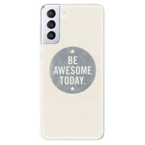 Odolné silikonové pouzdro iSaprio - Awesome 02 na mobil Samsung Galaxy S21 Plus 5G