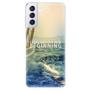 Odolné silikonové pouzdro iSaprio - Beginning na mobil Samsung Galaxy S21 Plus 5G