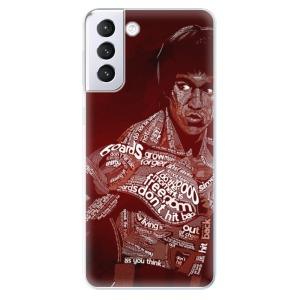 Odolné silikonové pouzdro iSaprio - Bruce Lee na mobil Samsung Galaxy S21 Plus 5G