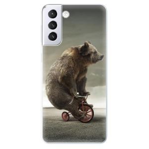 Odolné silikonové pouzdro iSaprio - Bear 01 na mobil Samsung Galaxy S21 Plus 5G