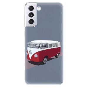 Odolné silikonové pouzdro iSaprio - VW Bus na mobil Samsung Galaxy S21 Plus 5G