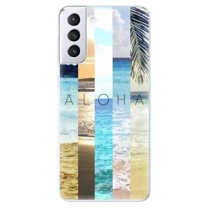 Odolné silikonové pouzdro iSaprio - Aloha 02 na mobil Samsung Galaxy S21 Plus 5G