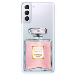 Odolné silikonové pouzdro iSaprio - Chanel Rose na mobil Samsung Galaxy S21 Plus 5G