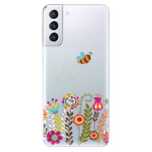 Odolné silikonové pouzdro iSaprio - Bee 01 na mobil Samsung Galaxy S21 Plus 5G