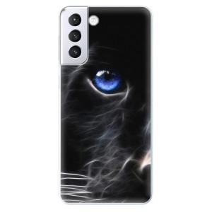 Odolné silikonové pouzdro iSaprio - Black Puma na mobil Samsung Galaxy S21 Plus 5G