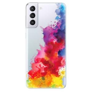 Odolné silikonové pouzdro iSaprio - Color Splash 01 na mobil Samsung Galaxy S21 Plus 5G