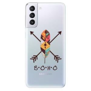 Odolné silikonové pouzdro iSaprio - BOHO na mobil Samsung Galaxy S21 Plus 5G