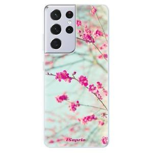 Odolné silikonové pouzdro iSaprio - Blossom 01 na mobil Samsung Galaxy S21 Ultra 5G