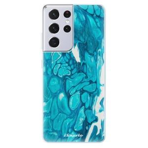 Odolné silikonové pouzdro iSaprio - BlueMarble 15 na mobil Samsung Galaxy S21 Ultra 5G