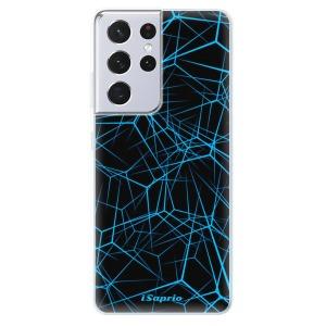 Odolné silikonové pouzdro iSaprio - Abstract Outlines 12 na mobil Samsung Galaxy S21 Ultra 5G