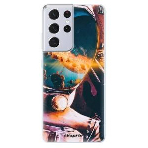 Odolné silikonové pouzdro iSaprio - Astronaut 01 na mobil Samsung Galaxy S21 Ultra 5G