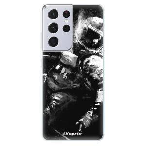 Odolné silikonové pouzdro iSaprio - Astronaut 02 na mobil Samsung Galaxy S21 Ultra 5G
