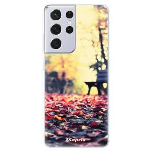 Odolné silikonové pouzdro iSaprio - Bench 01 na mobil Samsung Galaxy S21 Ultra 5G