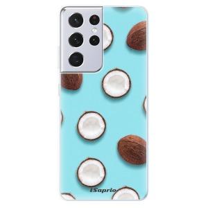 Odolné silikonové pouzdro iSaprio - Coconut 01 na mobil Samsung Galaxy S21 Ultra 5G