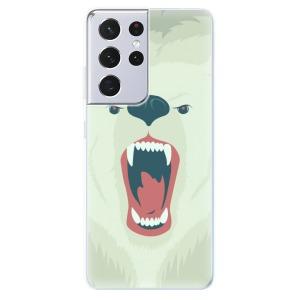 Odolné silikonové pouzdro iSaprio - Angry Bear na mobil Samsung Galaxy S21 Ultra 5G