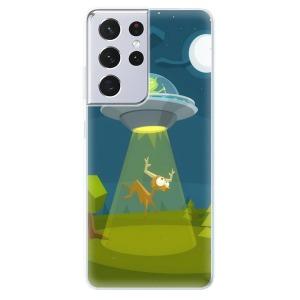 Odolné silikonové pouzdro iSaprio - Alien 01 na mobil Samsung Galaxy S21 Ultra 5G