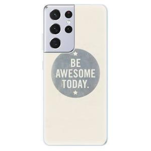 Odolné silikonové pouzdro iSaprio - Awesome 02 na mobil Samsung Galaxy S21 Ultra 5G