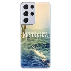 Odolné silikonové pouzdro iSaprio - Beginning na mobil Samsung Galaxy S21 Ultra 5G