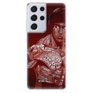 Odolné silikonové pouzdro iSaprio - Bruce Lee na mobil Samsung Galaxy S21 Ultra 5G