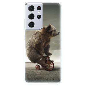 Odolné silikonové pouzdro iSaprio - Bear 01 na mobil Samsung Galaxy S21 Ultra 5G