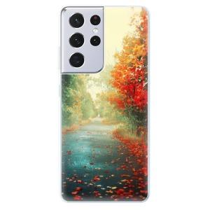 Odolné silikonové pouzdro iSaprio - Autumn 03 na mobil Samsung Galaxy S21 Ultra 5G