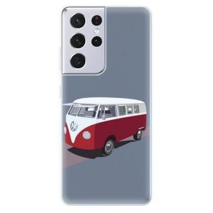Odolné silikonové pouzdro iSaprio - VW Bus na mobil Samsung Galaxy S21 Ultra 5G
