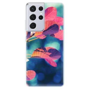 Odolné silikonové pouzdro iSaprio - Autumn 01 na mobil Samsung Galaxy S21 Ultra 5G